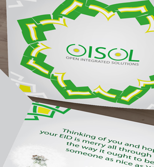 OISOL Greeting Card 1 Designed By Interactive Media