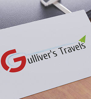 Gullivers  Travels LOGO Designed By Interactive Media