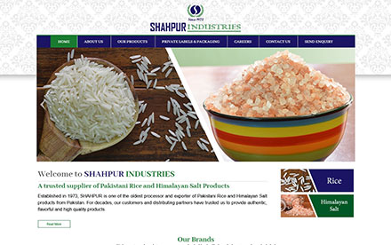 Shahpur Industries Designed And Developed By Interactive Media