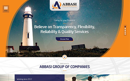 Abbasi Group Designed And Developed By Interactive Media