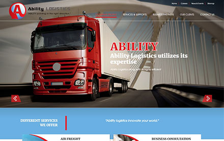 Ability Logistics Designed And Developed By Interactive Media