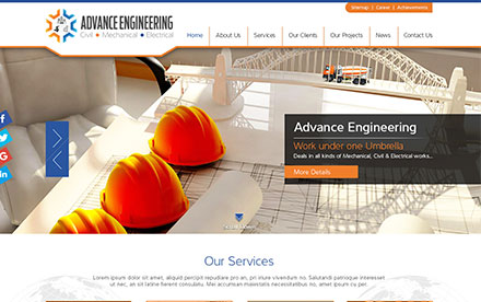 Advance Machinery EST Designed And Developed By Interactive Media