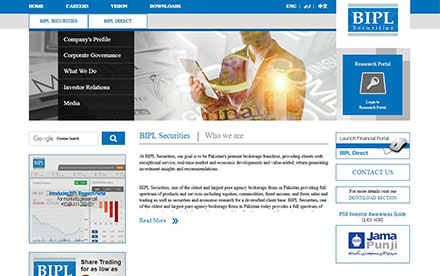 BIPL Securities Designed And Developed By Interactive Media