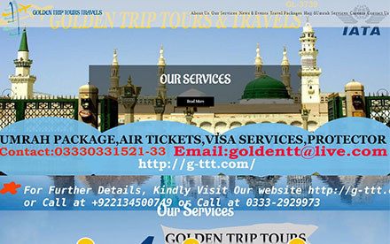 Golden Trip Group Designed And Developed By Interactive Media