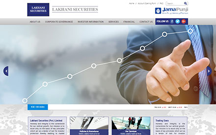Lakhani Securities Pvt. Ltd. Designed And Developed By Interactive Media