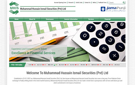 Muhammad Hussain Ismail Securities Designed And Developed By Interactive Media