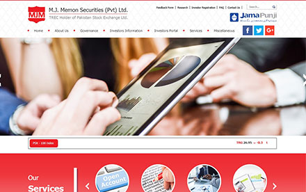M.J.Memon Securities (Pvt) Ltd Designed And Developed By Interactive Media