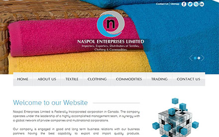 Naspol Enterprises Ltd. Designed And Developed By Interactive Media