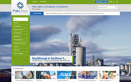 Pak Libya Holding (Pvt.) Ltd. Designed And Developed By Interactive Media