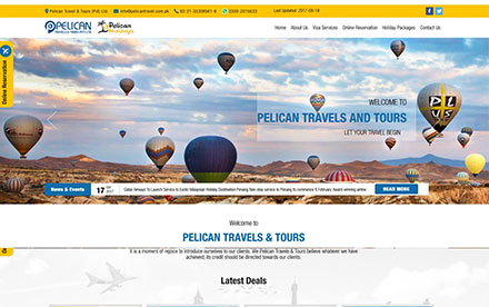 Pelican Travels & Tours (PVT) LTD Designed And Developed By Interactive Media