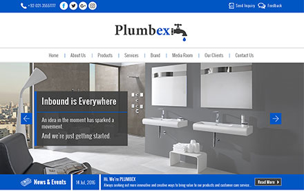 Plumbex Designed And Developed By Interactive Media