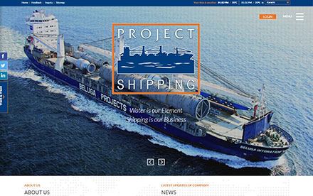 Project Shipping Designed And Developed By Interactive Media