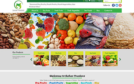 Sahar Traders Designed And Developed By Interactive Media