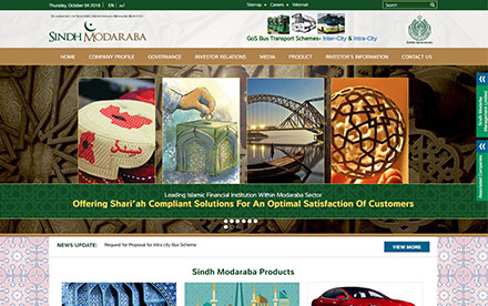 Sindh Modaraba Management Ltd. Designed And Developed By Interactive Media