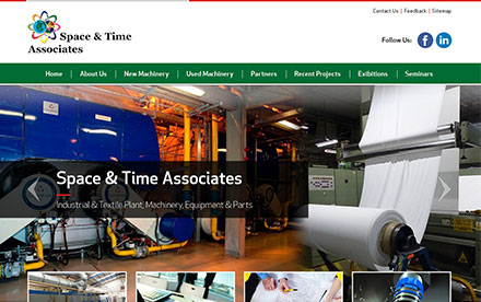Space & Time Associates Designed And Developed By Interactive Media
