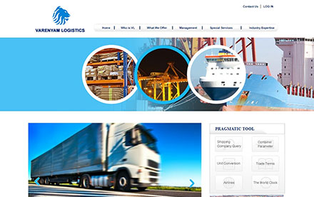 Varenyam Logistics Designed And Developed By Interactive Media