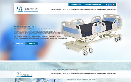 YH Enterprises Designed And Developed By Interactive Media